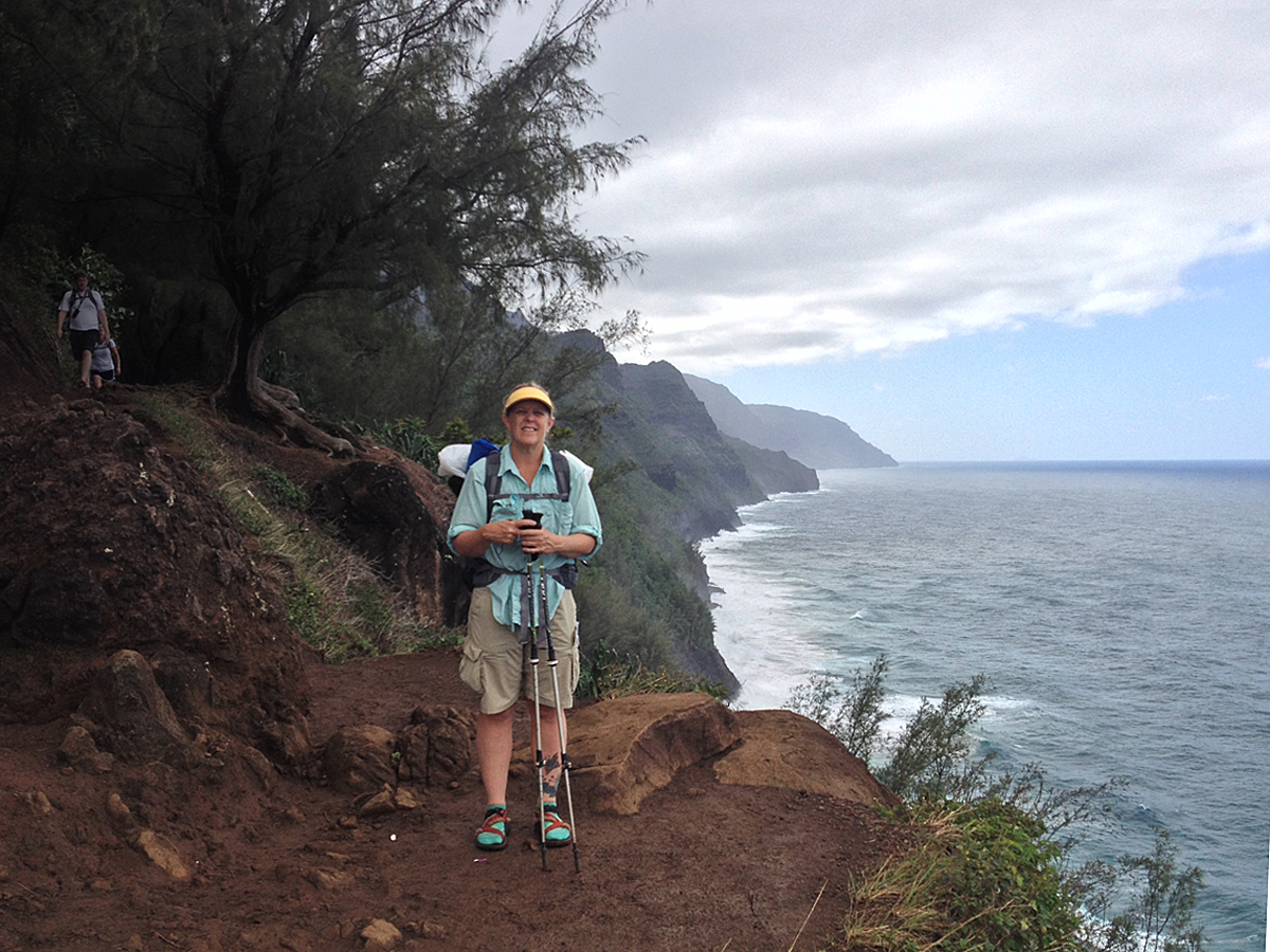 On the Kalalau Trail, Kauai